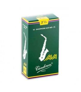Vandoren Saxophone Reed SR2625 Java No 2 1/2
