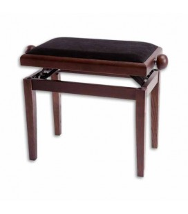 SML Adjustable Bench Walnut Rectangular