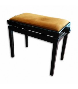 Discacciati Bench 105R 41 03V Black Rectangular Adjustable Beige