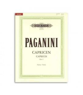 Paganini 24 Caprichos for Violin OP1 Peters