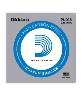 Daddário Electric or Acoustic Guitar Individual String 016 Steel