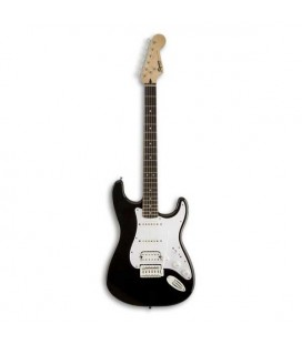 Electric Guitar Fender Squier Bullet Strat IL HSS Black