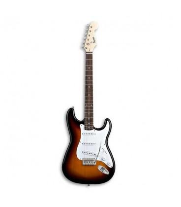 Photo of guitar Squier Bullet Strat Brown Sunburst