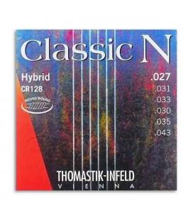 Thomastik Classical Guitar String Set Classic N Hybrid CR128