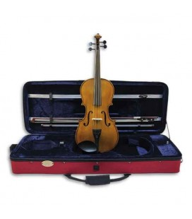 """Photo of viola Stentor Student II 15"""" SH  with bow and case"""