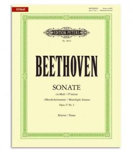 Cover of Beethoven Sonata in C Sharp Minor Moonlight OP27/2