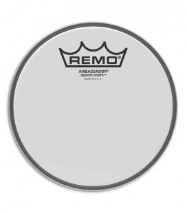 Remo Head BA 0206 00 Ambassador White 6
