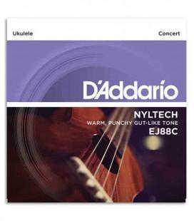 String Set DAddario EJ88C Concert Ukulele