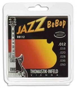 Thomastik Electric Jazz Guitar String Set 012 BB 12 Bebop