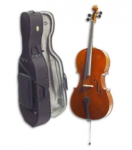 Stentor Cello Conservatoire with Bow and Case