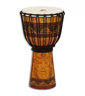 Toca Percussion Djembe TODJ 8TM Origin Series Wood Rope Tuned