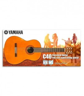 Yamaha Classical Guitar Pack C40 with bag and Tuner