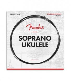 Fender Soprano Ukulele String Set