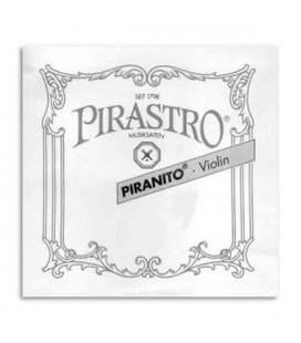 Violin Strings Set Piranito 615040 1/2 + 3/4