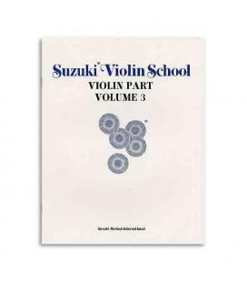 Book Suzuki Violin School Volume 3 with CD ALF28265