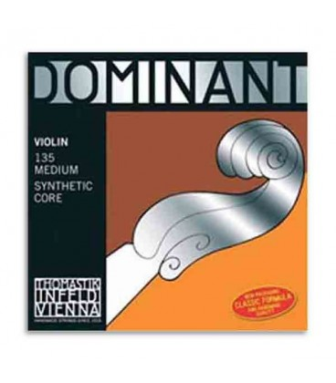 Pacakge of string set for violin Thomastik Dominant 135