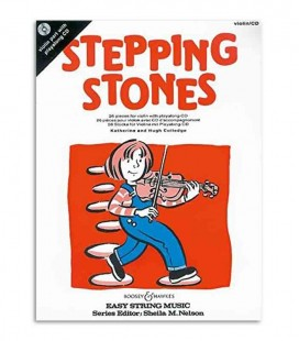 Stepping Stones 26 Pieces Violin with CD