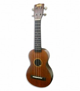 Mahalo Soprano Ukulele MJ1VT Java with Equalizer and Bag