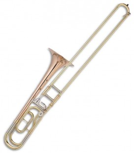 John Packer Tenor Trombone JP133LR F/B Flat Golden with Case