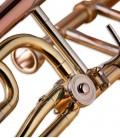 Tubing of trombone tenor John Packer JP133LR