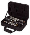Open case with John Packer Clarinet JP221 instrument photo