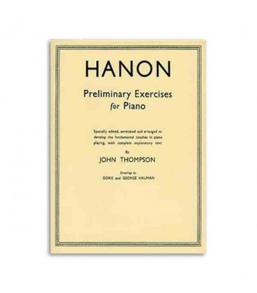 Book Thompson Hanon Preliminary Exercises Piano WHR000352