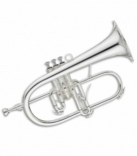 John Packer Flugelhorn JP275SWS B Flat Silver Plated with Case