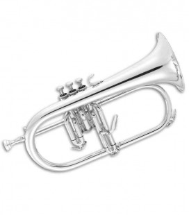 John Packer Flugelhorn JP175S B Flat Silver Plated with Case