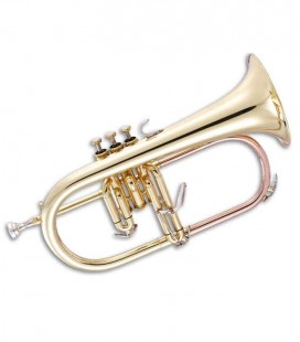 John Packer Flugelhorn JP175 B Flat Golden with Case