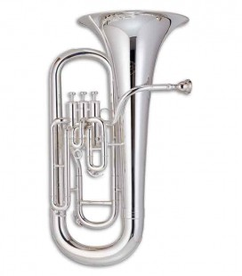 John Packer Euphonium JP074SMKII B Flat Silver Plated with Case
