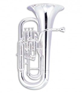 John Packer Euphonium JP274S B Flat Silver Plated with Case