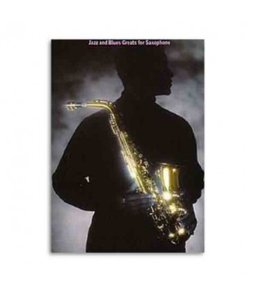 Book Jazz and Blues Greats for Saxophone AM82298