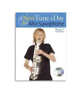 Book A New Tune a Day Sax Book 1CD