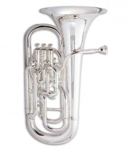 John Packer Euphonium JP374S Sterling B Flat Silver Plated with Case