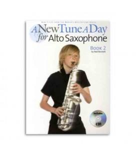 A New Tune a Day Alto Sax Book 2 with CD