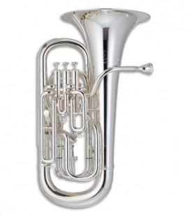 John Packer Euphonium JP374ST Sterling B Flat Silver Plated with Case