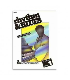 Music Sales Book Rhythm and Blues piano BOE3503