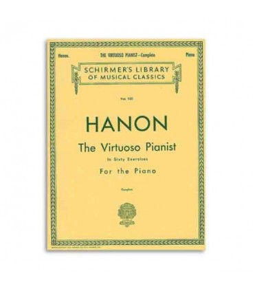 Book Hanon The Virtuoso Pianist 60 Exercises HL50256970