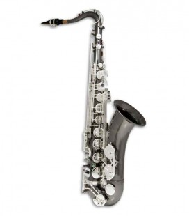 John Packer Tenor Saxophone JP042BS B Flat Black with Silver Keys and Case