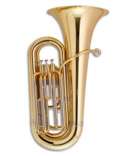 John Packer Compact Tuba JP078 B Flat Lacquer with Case
