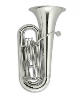 John Packer Compact Tuba JP078S B Flat Silver Plated with Case