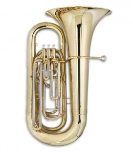 John Packer Tuba JP278 B Flat Lacquer with Case