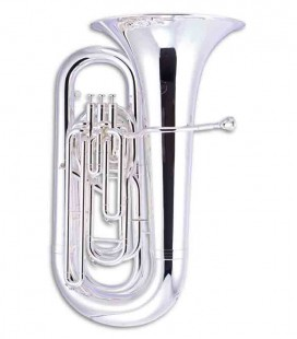 John Packer Tuba JP278S BB Flat Silver Plated with Case