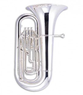 John Packer Tuba JP378S Sterling B Flat Silver Plated with Case