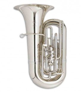 John Packer Tuba JP379CCS Sterling C Silver Plated with Case