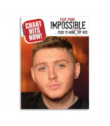 Book cover of Chart Hits Now Easy Piano Impossible