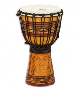 Toca Percussion Djembe TODJ 7TM Origin Series Wood Rope Tuned
