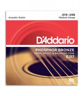DAddario Acoustic Guitar String Set EJ17