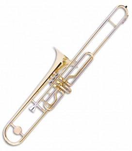 Photo of the John Packer Trombone with Pistons JP135