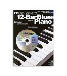 Music Sales Book Fast Forward 12 Bar Blues Piano AM92445